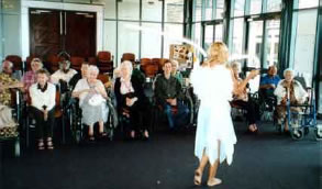 Performing Arts at Aged Care Facilities