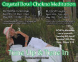 Crystal Singing Bowl Meditations